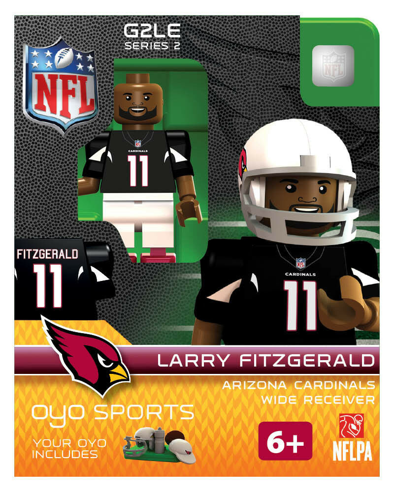 Larry Fitzgerald OYO ARIZONA CARDINALS NFL Mini Figure NEW G2 RARE  eBay