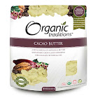 Organic Traditions - Cacao Butter - 8 oz