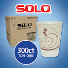 Solo Hot and Cold Cups 12 oz, 300-count