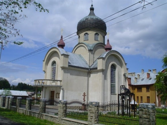 Gorlice: the Trinity Ukrainian Catholic Church.