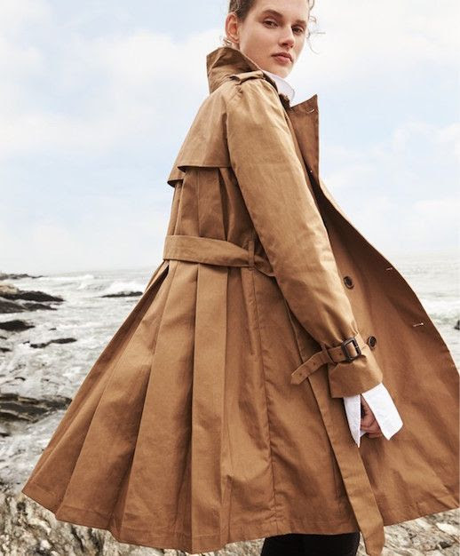 Le Fashion Blog Must Have Pleated Camel Trench Coat Via Jcrew Fall Outfit Inspiration