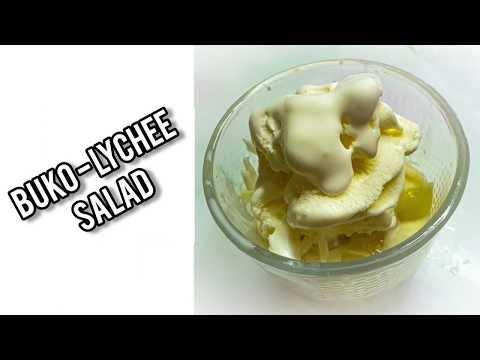Buko-Lychee Salad