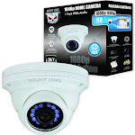 Night Owl CAM-HDA10W-DMA Surveillance Dome Camera - Outdoor - Weatherproof - 2 MP - 1080p - Day/Night