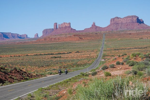 Departing the hot, dry Monument Valley--already 85 degrees at 9 a.m. (Photos by the author)