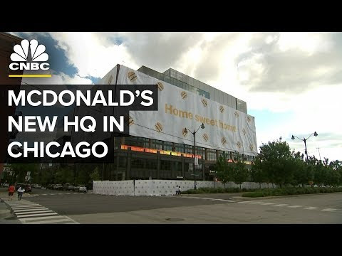 McDonald's opens new HQ; plans to add more self-service kiosks