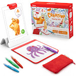 Osmo Creative Starter Kit for iPad: Creative Drawing and Problem Solving, Ages 5-10, White