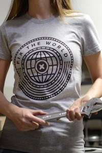 Fix the World t-shirts