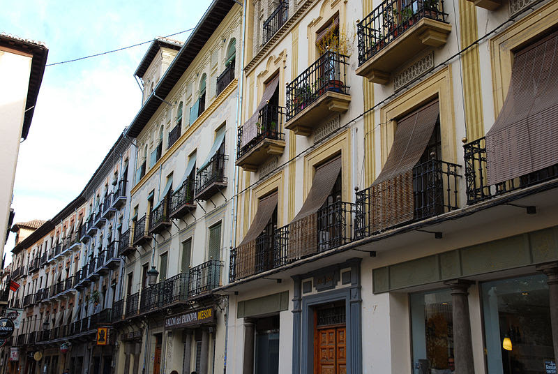 File:Calle Santa Escolástica (Granada).jpg