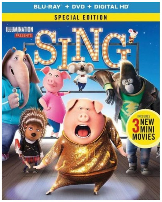 SING Special Edition is now on Blu-ray and DVD #SingMovie #SingSquad - Stylish Life for Moms