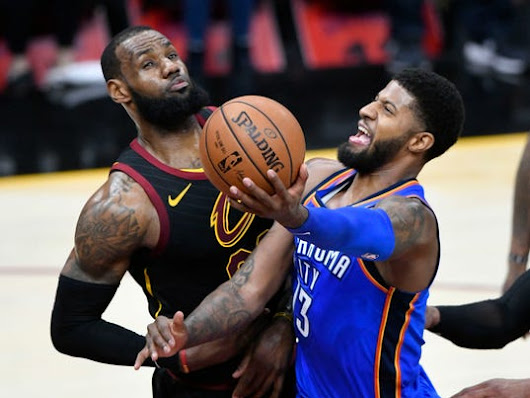 Thunder blast Cavaliers to keep LeBron from milestone
