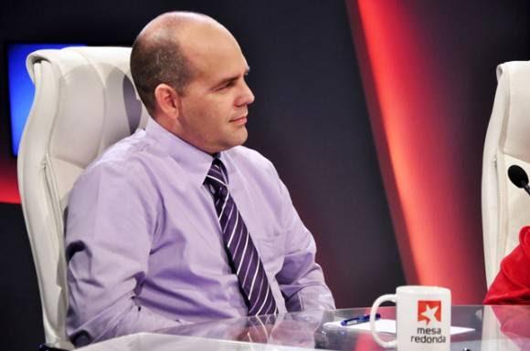 Ariel Rivero Fernández, director de cuentas nacionales de la Oficina Nacionalde Estadística (ONEI) e Información.