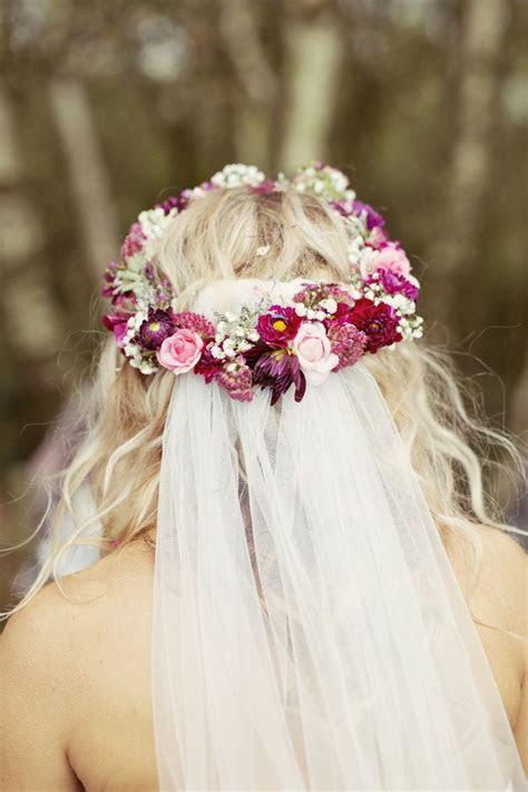 bridal flower crowns images  pinterest