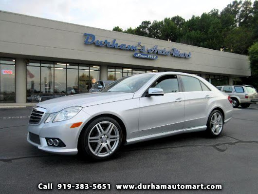 Used 2010 Mercedes-Benz E-Class E350 Sedan for Sale in Durham NC 27705 Durham's Auto Mart