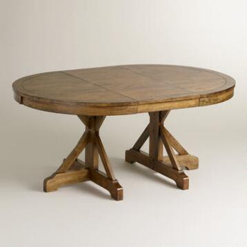 Dining Room Tables; Affordable Rustic Wood | World Market