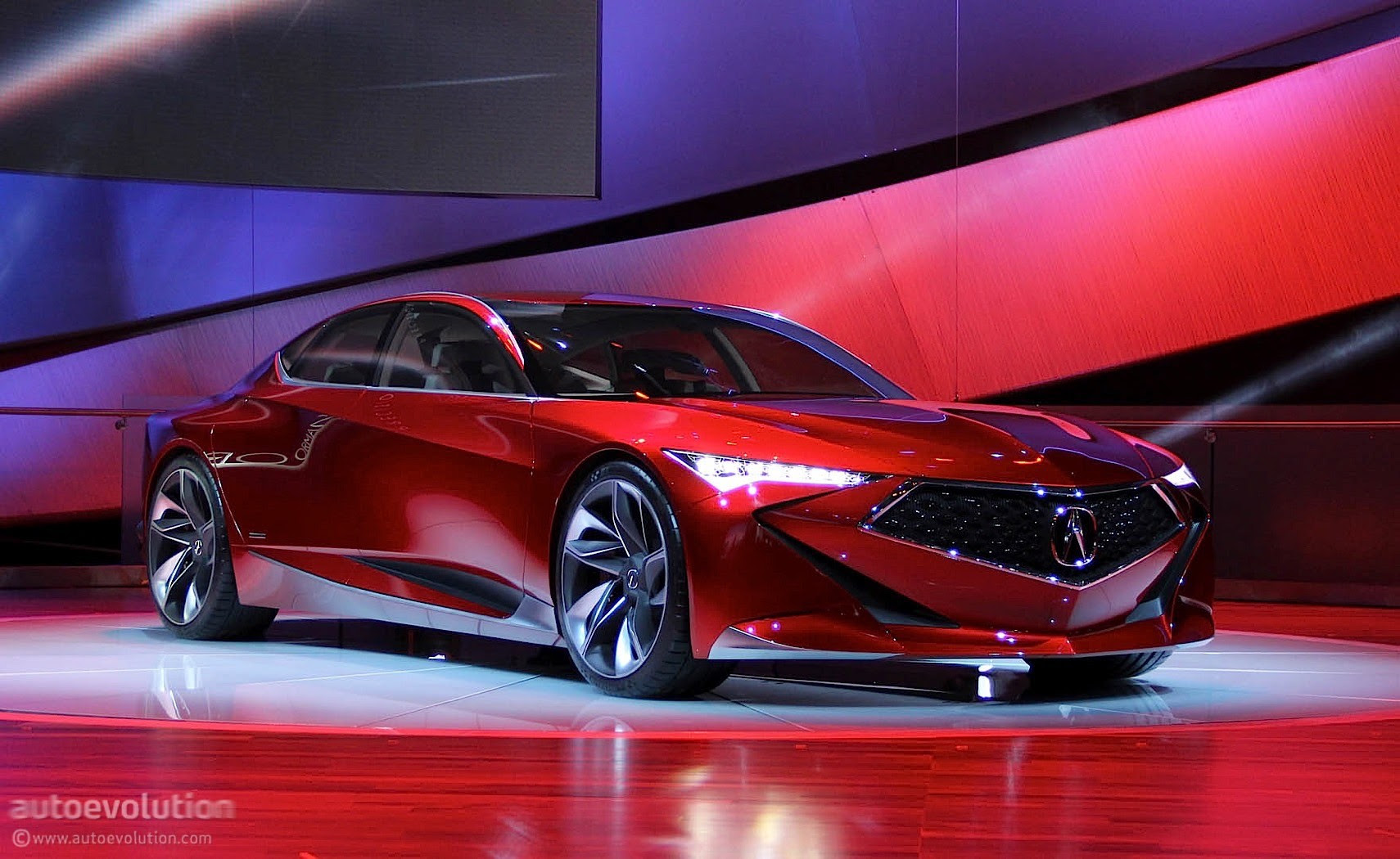 Acuras Next Generation Rlx To Be Inspired By Precision Concept Autoevolution