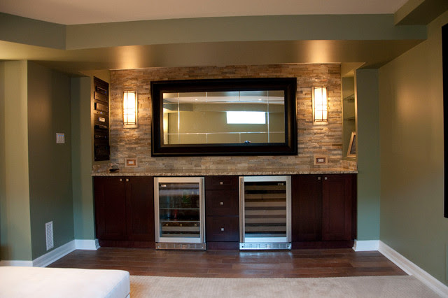 Oakbriar - contemporary - basement - ottawa - by Dalton ...