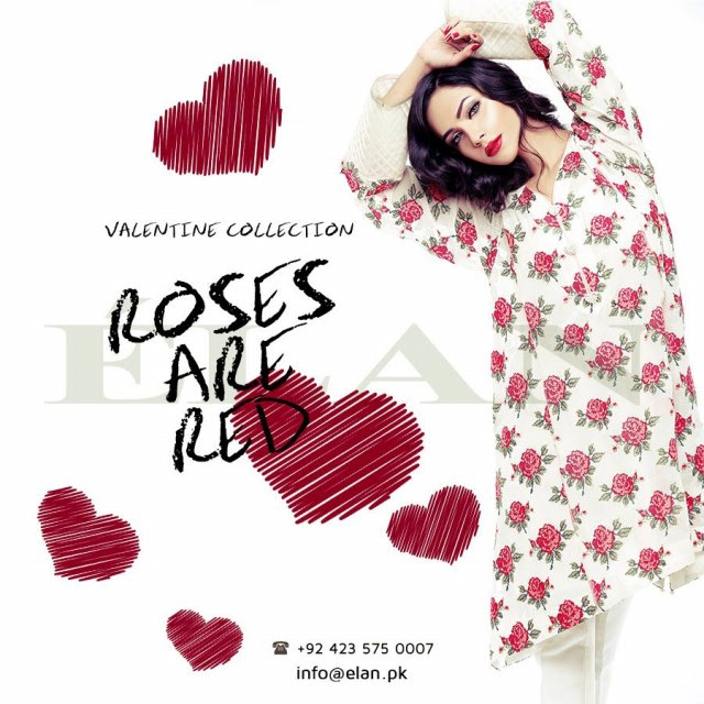 Beautiful-Girls-Wear-Valentines-Day-Romantic-Outfits-New-Fashion-Dress-by-Elan-