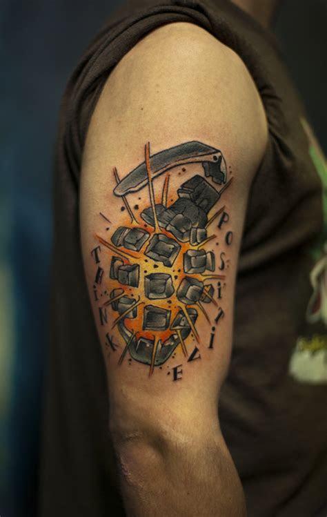 military hand grenade tattoo tattoo ideas