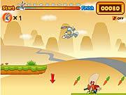 Jogar Bugs bunnys hopping carrot hunt Jogos