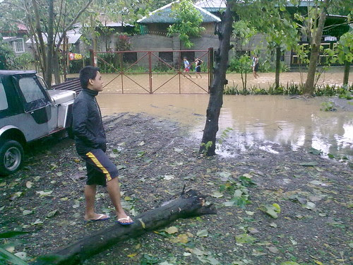 Our house, RJ - typhoon Pedring