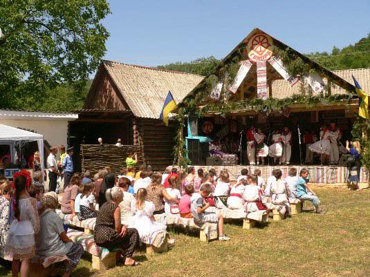 сцена на фестивалі ковалів гамора