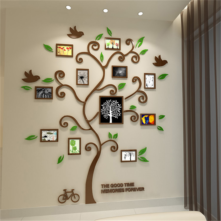 Detail Feedback Questions About New Family Tree Photo Frame Crystal