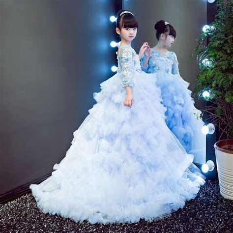 Flower Girl Dresses Vestidos for Wedding Ball Gown Girl