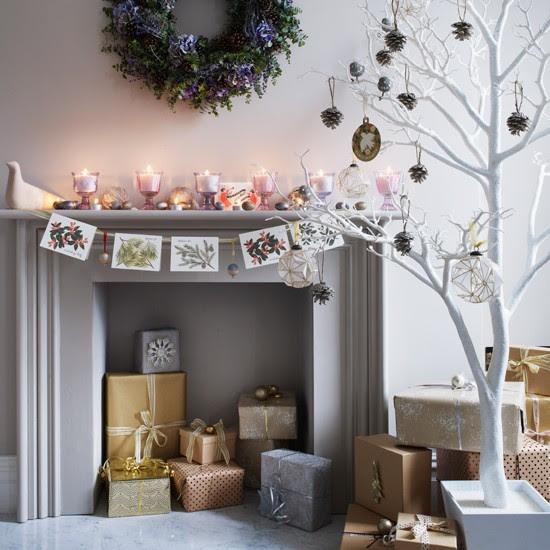Mantelpiece card display   Homemade Christmas ideas   PHOTO GALLERY   Housetohome.co.uk