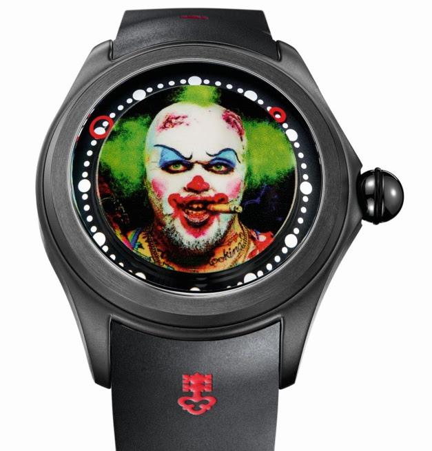 Corum Bubble Clown by Matt Barnes : l'heure de se faire peur