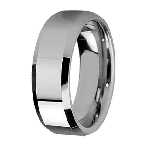 stainless steel wedding rings for man and woman