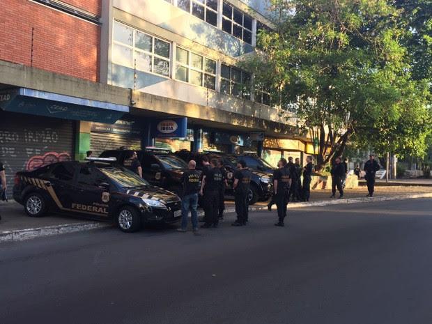 Operação, Polícia Federal, fraude, bolsas, UFRGS (Foto: Divulgação/PF)