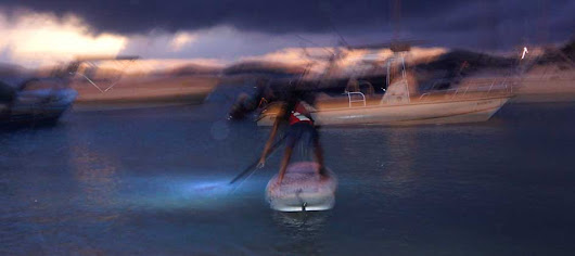 Come Nightpaddleboarding with us - SUP-StJohn