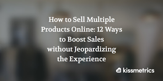 How to Sell Multiple Products Online