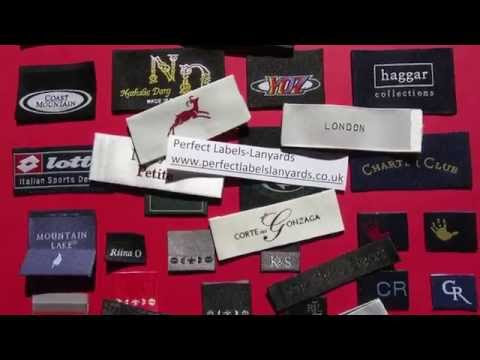 Designer Woven Labels for Clothing: Kids & Women's Clothes