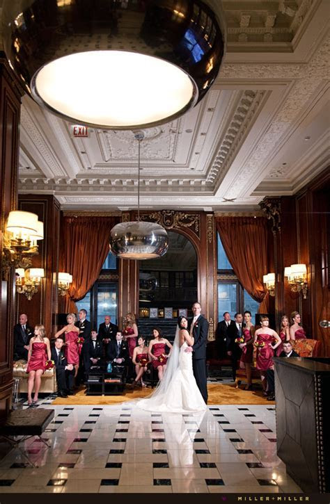 Chicago Wedding Photographer Blackstone Hotel   Matt