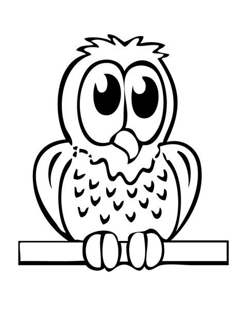 owl coloring pages printable   coloring pages