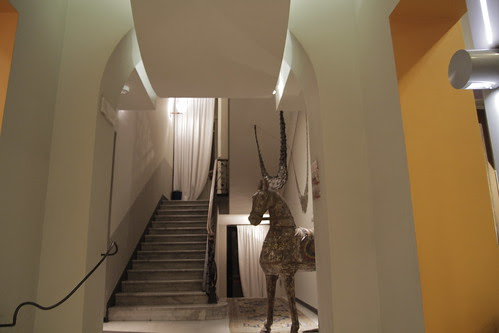 Lobby of Art Hotel Boston 3
