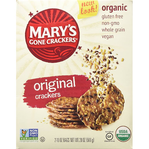 Mary's Gone Original Organic Crackers - 20 oz box