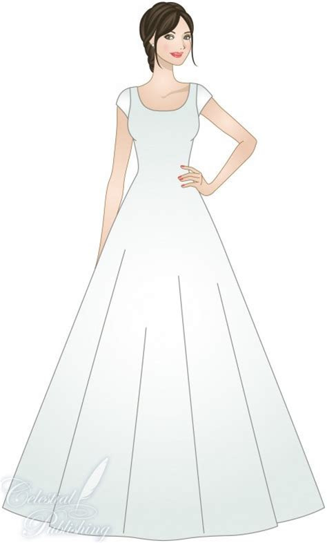 A LINE or PRINCESS SILHOUETTE ? LDS Wedding Planner