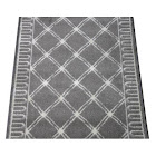 Dean Lumiere Lattice Nickel Custom Length Carpet Rug Hall Stair Runner 27 Inches Width - Purchase by The Linear Foot