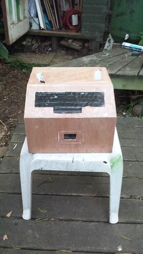Basic unpainted box for Fortune Teller