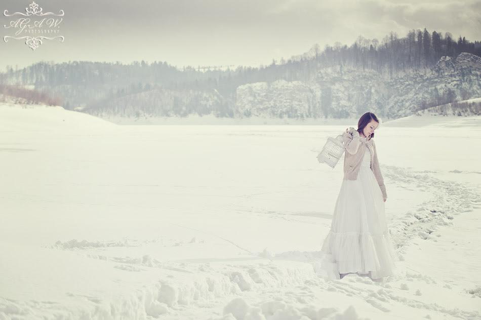 sesja ślubna w zimie