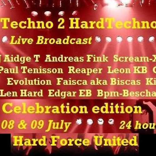 Techno 2 HardTechno - Celebration Edition Podcast Mix @DJAidgeT by DJ Aidge T