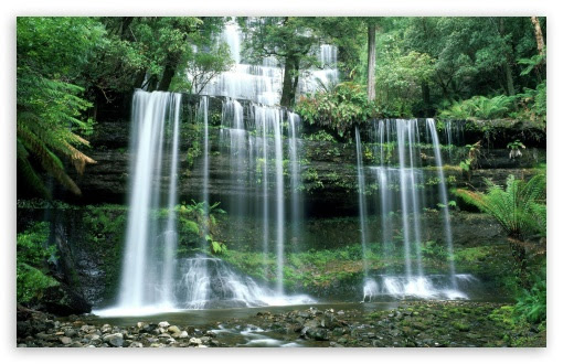 Mt Field National Park Russell Falls