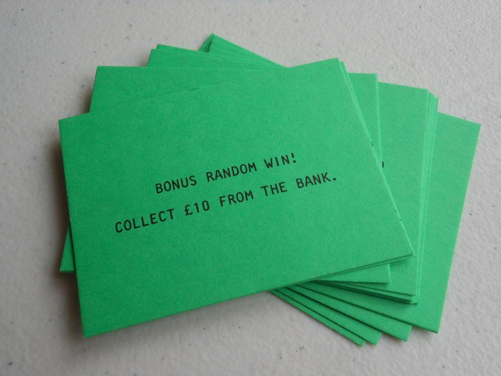 Cashpot cards