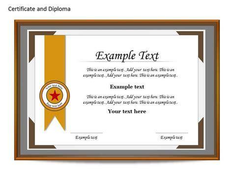 Certificate Template Ppt   fee schedule template