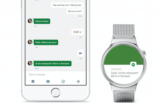 Ahora Android Wear es compatible con iOS