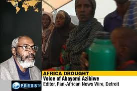 Abayomi Azikiwe, the editor of the Pan-African News Wire, speaking on Press TV on the humanitarian and political crisis in the Horn of Africa. 11 million people are facing famine in the region. by Pan-African News Wire File Photos