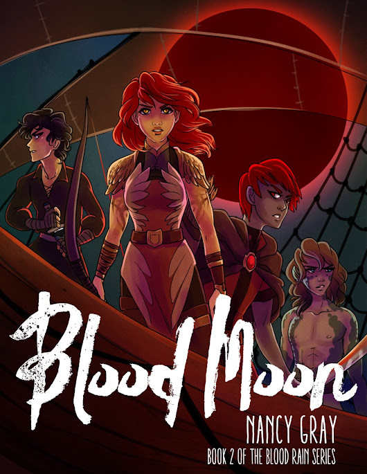 Book Review: Blood Moon by Nancy Gray