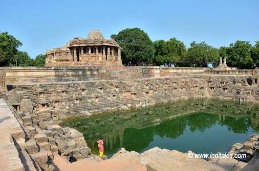 Surya Kund, Sabhamandapa & Main temple at Modhera. Understanding the Architecture of Sun Temple, Modhera...